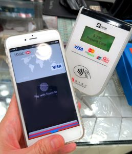 SPECTRA SR300 fully support Apple Pay rolling out in Hong Kong