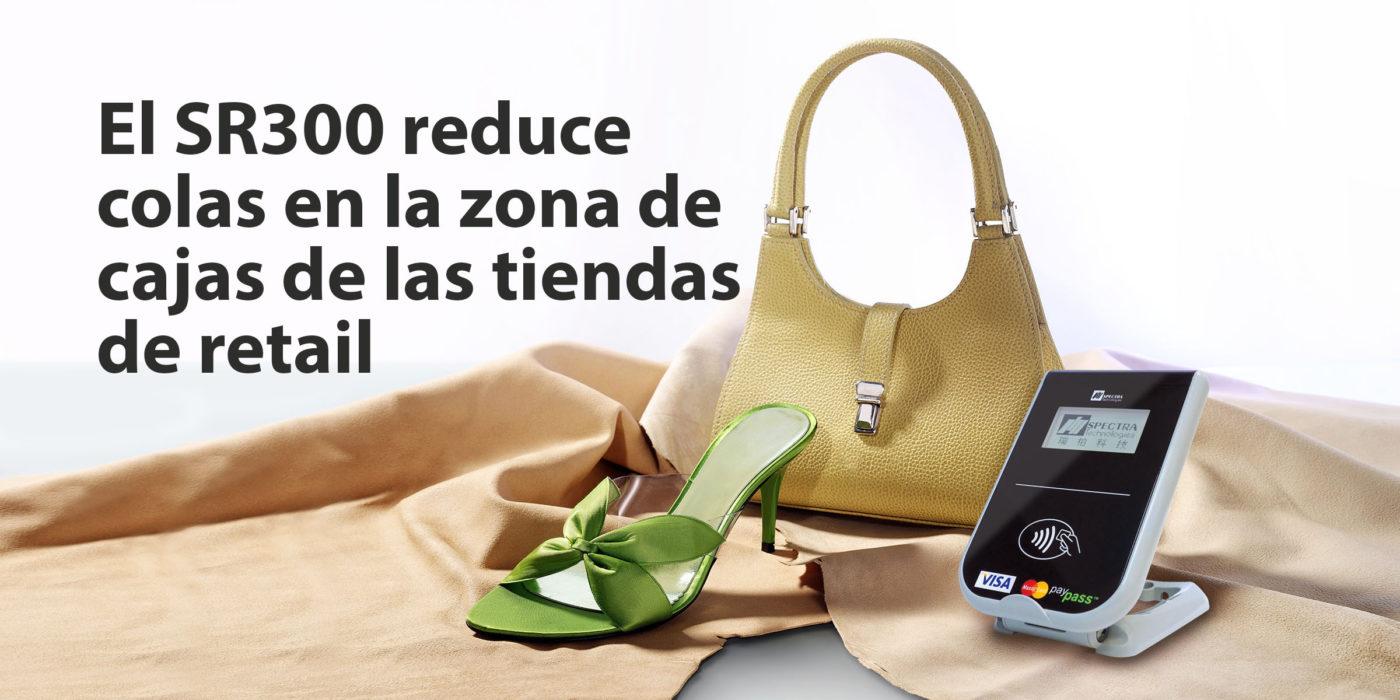 El SR300 reduce colas en la zona de cajas de las tiendas de retail