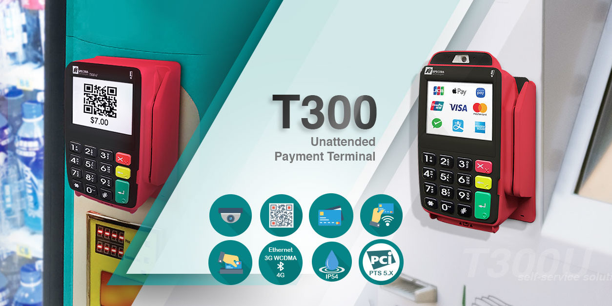 T300 Unattended Payment Terminal
